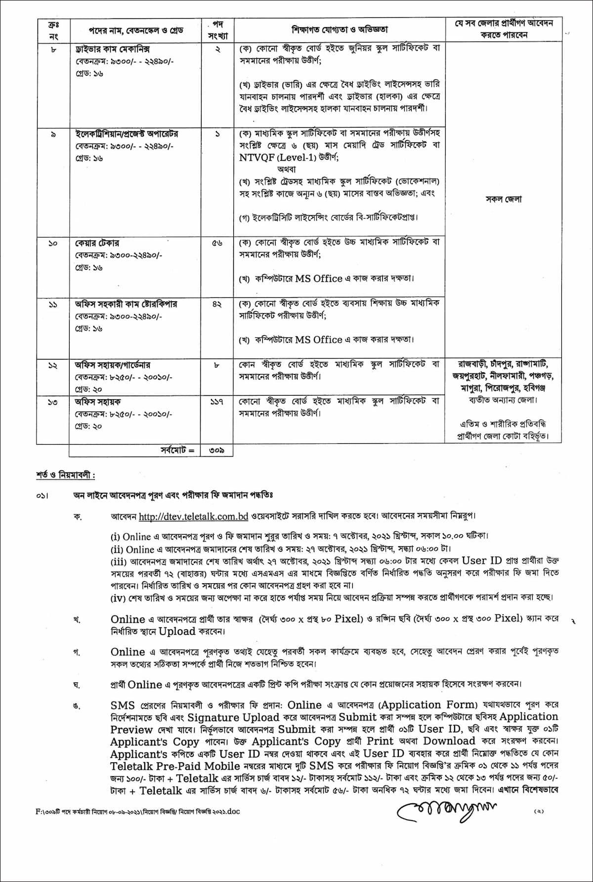 কারিগরি-শিক্ষা-অধিদপ্তর-সার্কুলার-2021-2