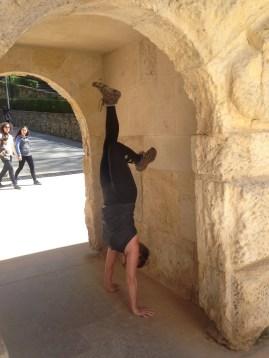 Arch handstand