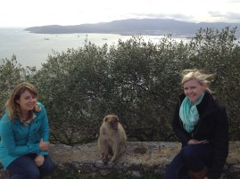 me, Megan, & macaque