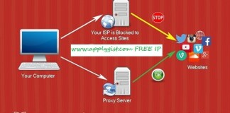 http proxy servers ip address port