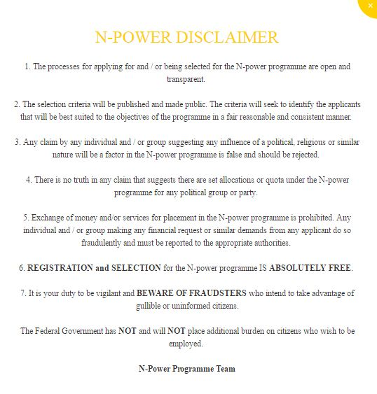 Npower Scam Alert notice 2017