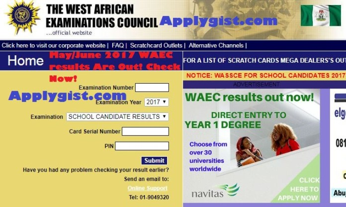 2017 WAEC Result Check Frequently Asked Questions (FAQ)