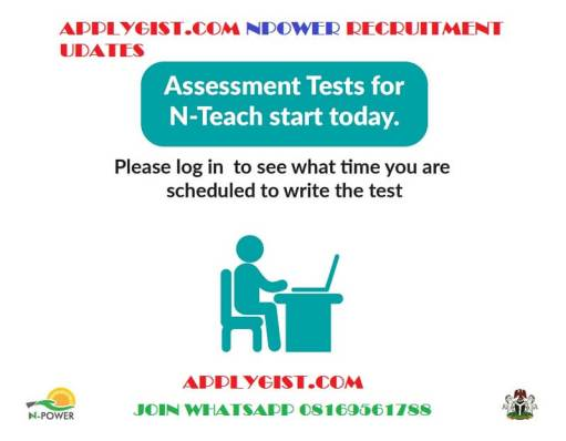 Npower Teach Test