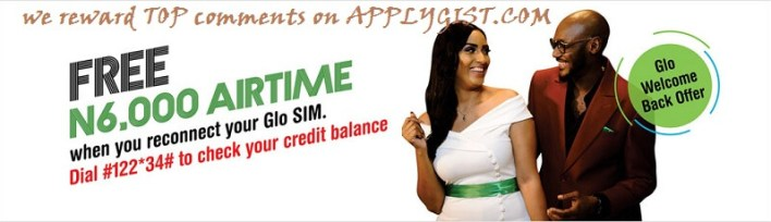 Glo free data and free 6000 credit