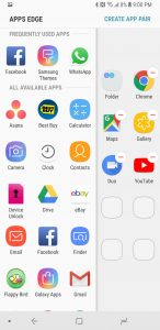 App Pairing Samsung Galaxy Note 8