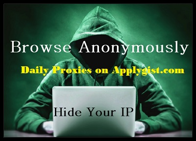 Anonymous Proxy List November 11, 2017