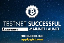 Bitcoin Gold Launched