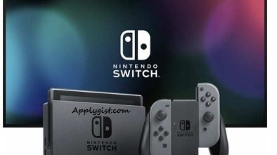 Black Friday Nintendo Switch Console Feat
