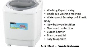 Black Friday Washing Machine