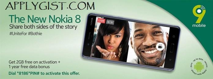 Nokia FREE data Nokia 8