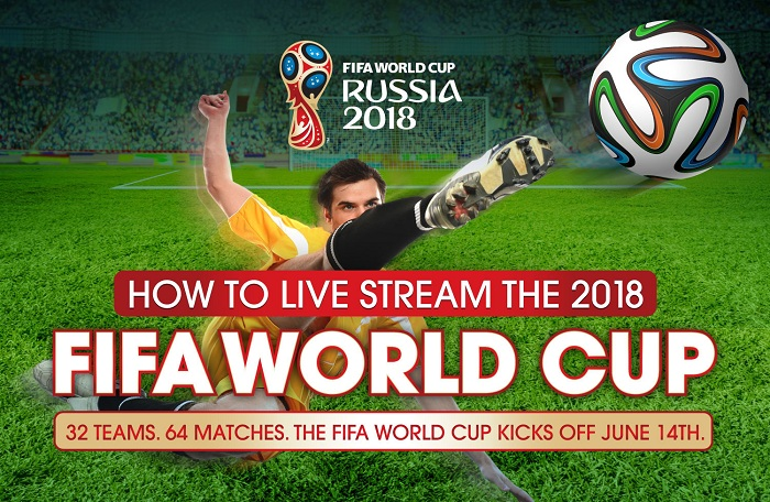 How to stream 2018 fifa world cup no data