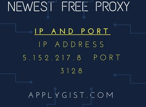 Newest Proxy iP and Port