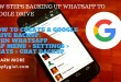 NEW STEPS BACKING UP WHATSAPP TO GOOGLE DRIVE applygist.com