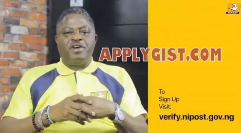 Sign Up for Nipost Address Verification Job
