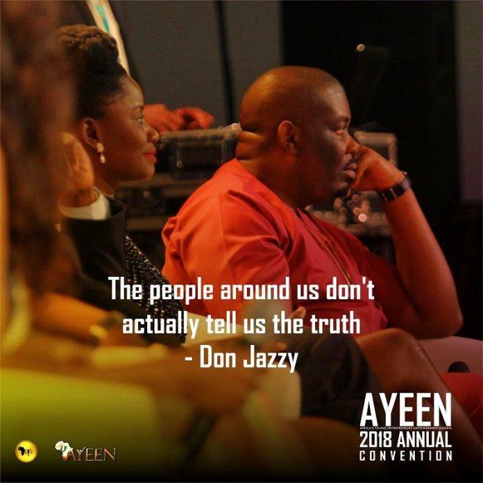@donjazzy #AYEEN2018 #AfricasYoungEntrepreneurs