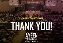 A.Y.E AYEEN Unveils A.Y.E TRUST FUND