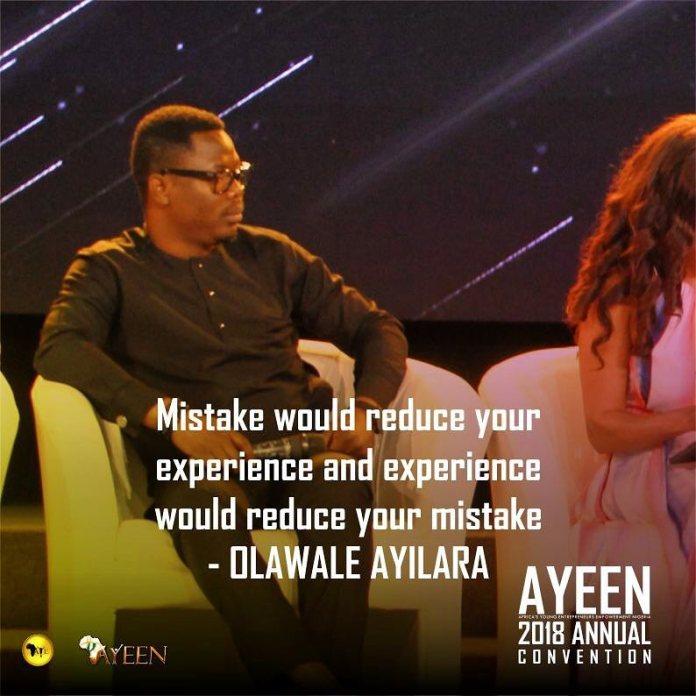Olawale Ayilara A.Y.E Panel 2018