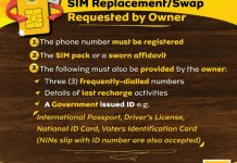 The Minimum Requirements for SIM Replacement Swap