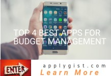 Top 4 best apps for budget management
