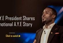 Why A.Y.E Trust Fund? A.Y.E President