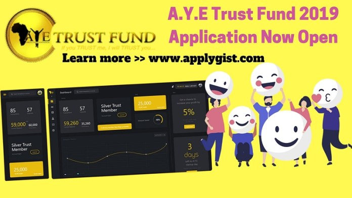A.Y.E Trust Fund 2019 Application Now Open