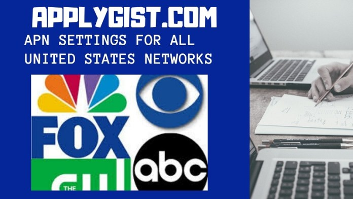 APN Settings For All United States Networks