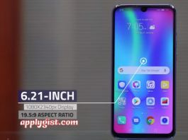 Huawei Honor 10 Lite Screen 6.2