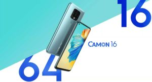 Tecno Camon 16 With 64 Megapixel Launching In India
