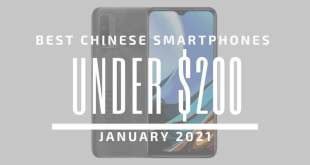 TOP 5 BEST CHINESE PHONES FOR UNDER $200 – JANUARY 2021