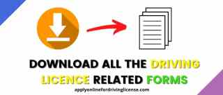 download all the driving licence related forms