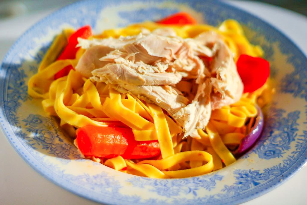 Roast Chicken Pasta easy chicken recipes