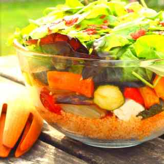 Moroccan Roast Vegetable Salad