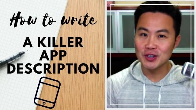 How to Write A Killer App Description