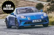 Alpine A110 - car of the decade - front