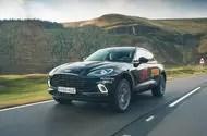 Aston Martin DBX 2020 prototype drive - hero front