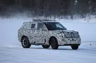 2022 Range Rover Sport drifting on a frozen lake