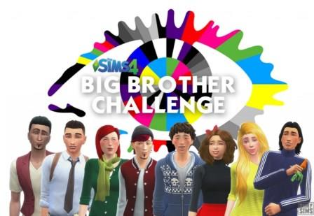 "Sims 4 ""Big Brother"" Challenge"