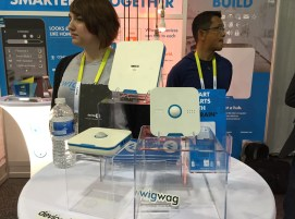 WigWag CES 2015 display