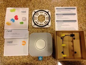 Nest Protect unboxed