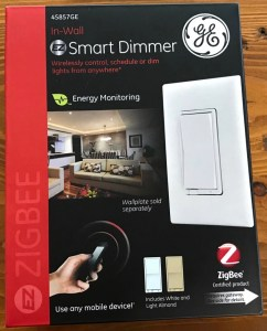 GE ZigBee Smart Dimmer Switch