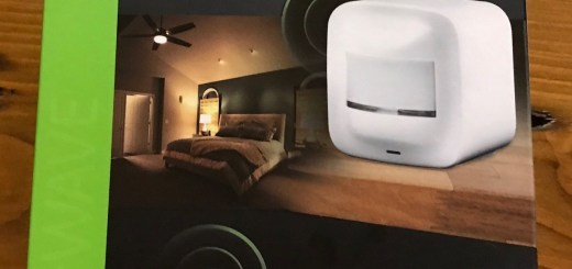 GE Smart Motion Sensor and Touch Sensing Smart Dimmer