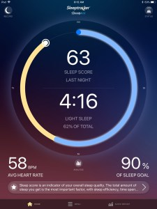 Sleeptracker sleep score