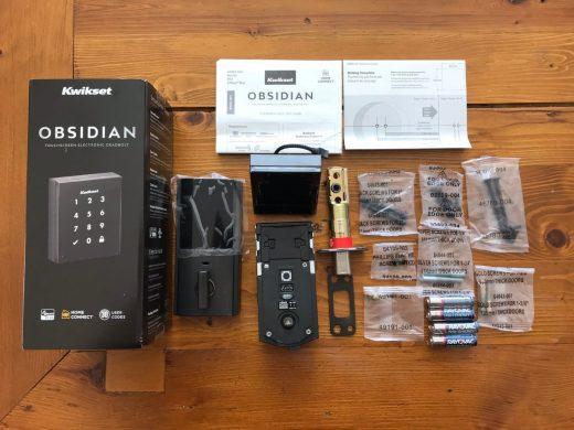 obsidian smart lock unboxed