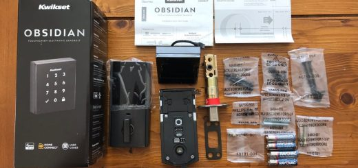 obsidian smart lock unboxed