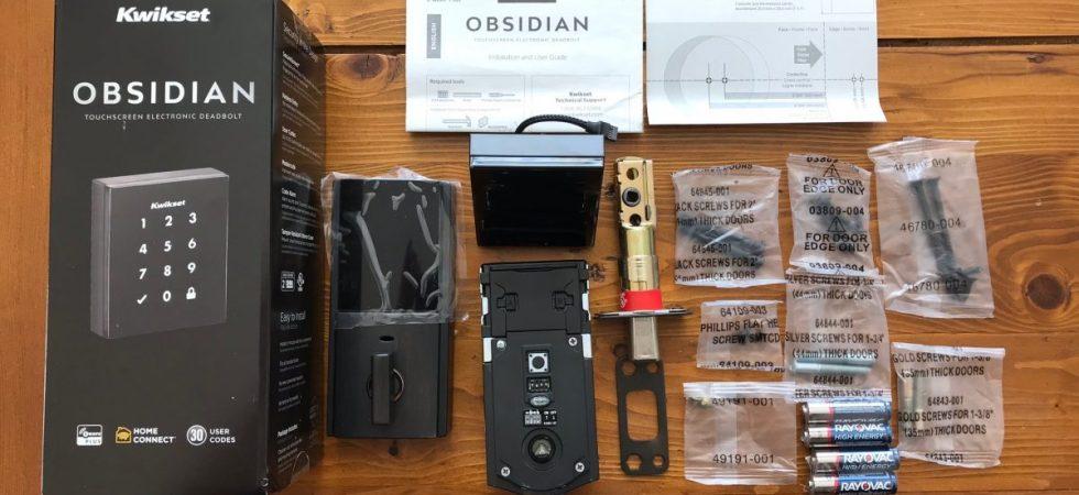 Sleek and Stylish Smart Lock – the Kwikset Obsidian