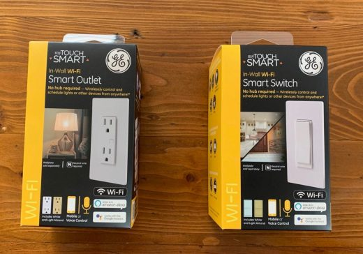myTouchSmart In-Wall Wi-Fi Smart Outlet and Switch