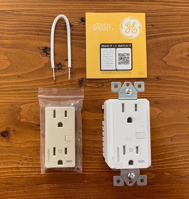 myTouchSmart In-Wall Wi-Fi Smart Outlet