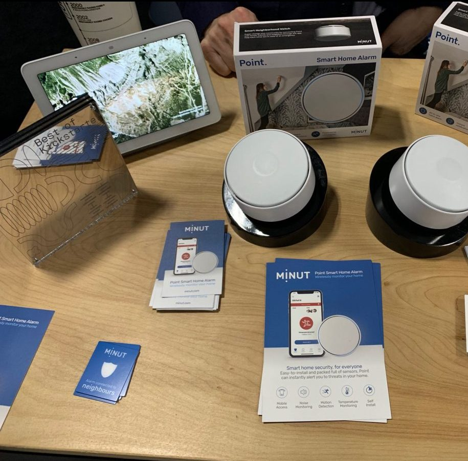 Minut smart alarm system CES smart home gadgets