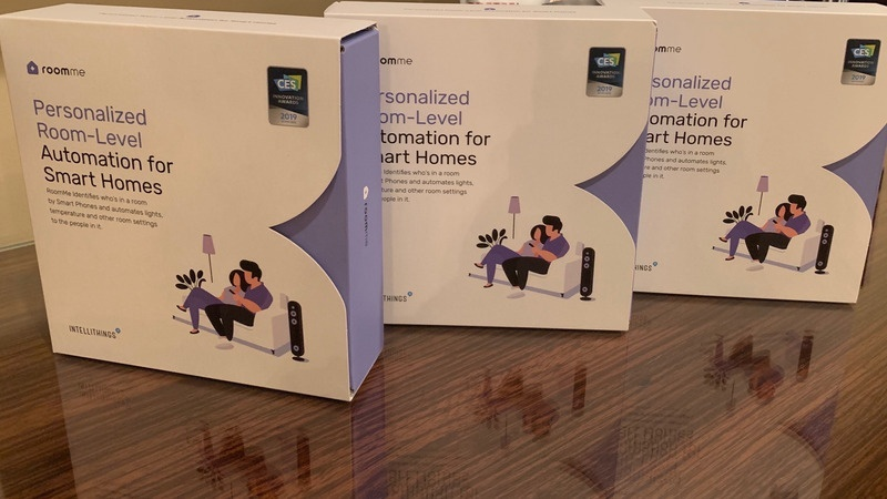 RoomMe Personalized Automation CES smart home gadget