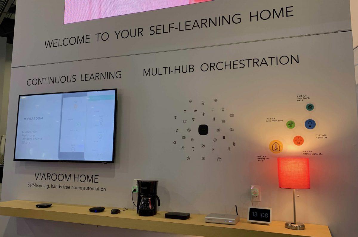 Viaroom Home CES smart home gadget